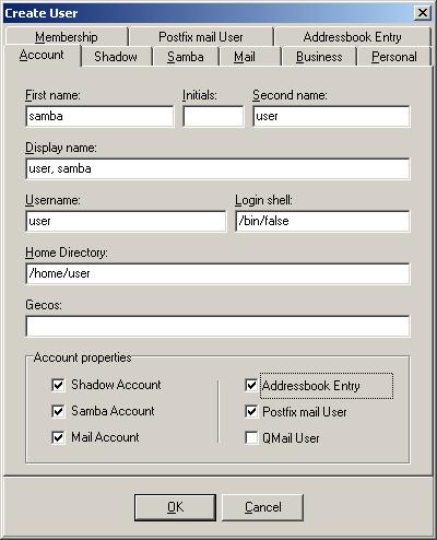 LDAP Admin: Templates